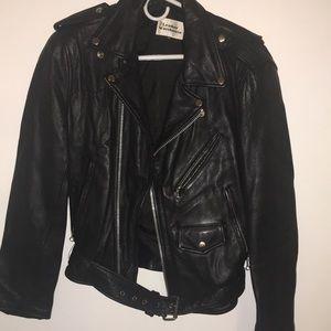 Black Women's Leather Jacket